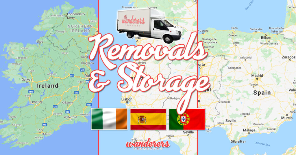 New Transport Client - Removals & Storage - Ireland, Portugal, Spain - WanderersTransport